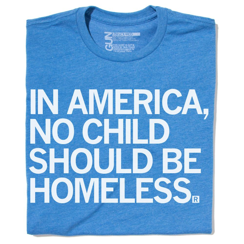No Child Should be Homeless